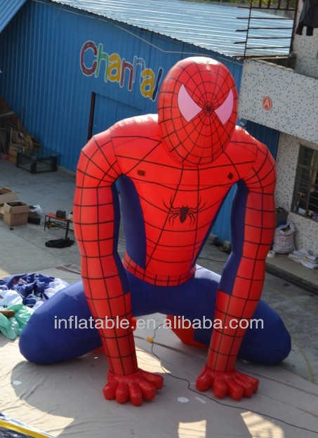 customized inflatable spider man