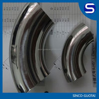 304 316 aluminum bend tube 90 degree