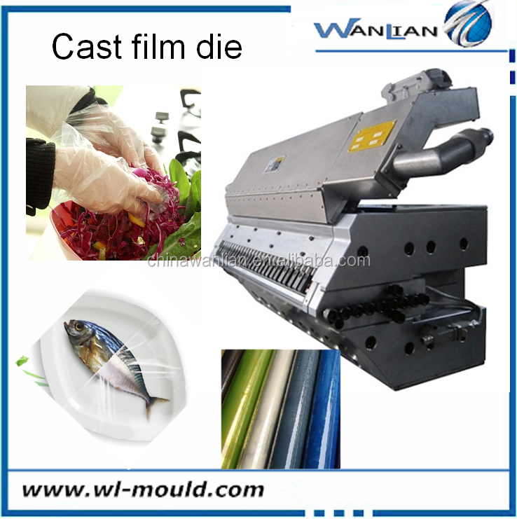 PVCcast stretch film machine/PVC stretch film blow moulding product food extrusion die head