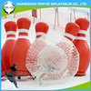 2017 hot sale inflatable human bowling ball