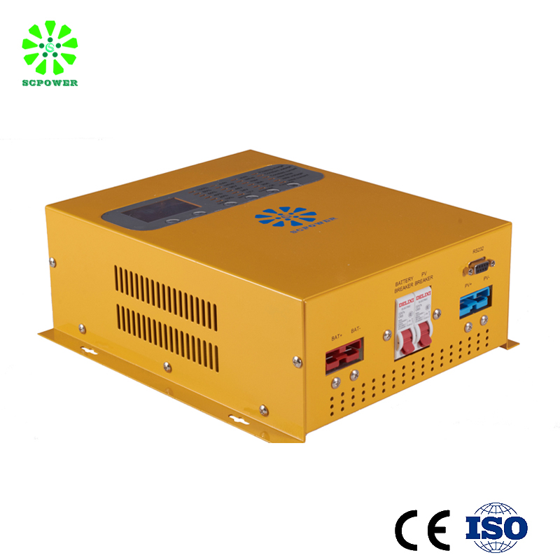 high efficient mppt solar charge controller 60a 48v for solar panel