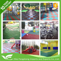 Multifunctional rubber flooring sheet how to clean rubber mat flooring outdoor playground rubber mats manufacturer