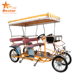 pedicab 4 wheel adult surrey bike four seat bicycle