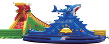 popular factory price high quality cheap turkey shark Inflatable Bouncer