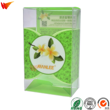 wanli brand general pp pet pvc packing box tea packaging clear plastic box
