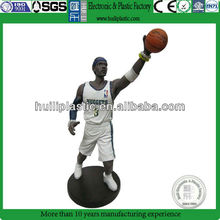 hotsale plastic model figure football;soccer football figure;plastic football model figure