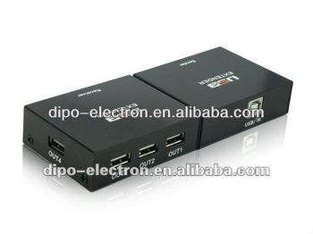 60m rj45 over cat5e usb extender