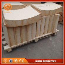 good quality generally refractory fire clay bricks for glass oven and cement kiln