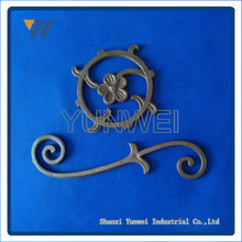 Customized Chinese Cheap Decorative Wrough Iron Railings Antique Indoor Stair Railings