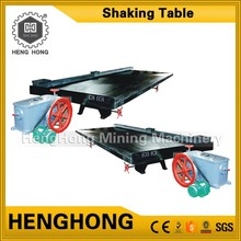 Small diesel engines ghana gold pan shaking table for garnet separation