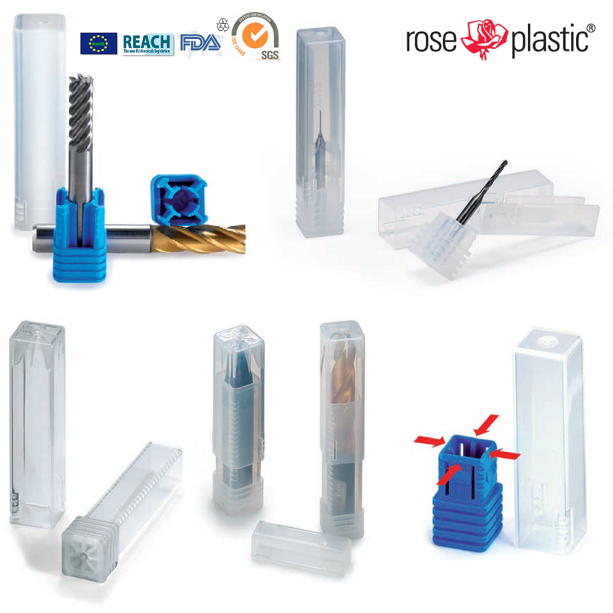 Plastic tubes for inserts packaging TPK