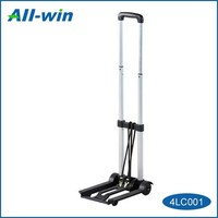 High Quality Foldable Steel Luggage Cart