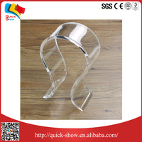 clear transparent headphone cellphone acrylic display