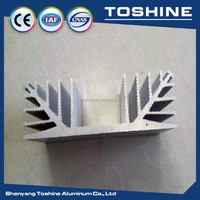 New Arrival ! Aluminium led heatsink profile ,Customized aluminium heat sink anodized matt round heatsink aluminium supplier
