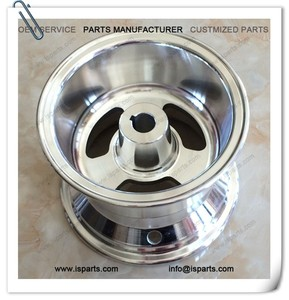 Manufacturers ATV 6 inch rim 1 inch bore with hub