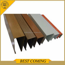 U shape ceilings, aluminum U shaped ceiling tile, suspended ceiling material
