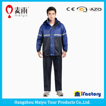 Maiyu waterproof motor coat/ motorbike suit/motorcycle wear