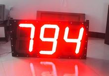 2016 led display wireless led number display \ number sign board \ 7 segment number banner display