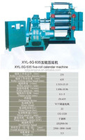 XYL-5G 635 Five-roll calender machine FOR RAIN BOOTS