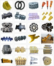 LIUGONG/XGMA/XCMG track roller,idler,bushing, track pin,bulldozer & excavator undercarriage parts