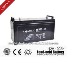 China making lead acid AGM battery 12v 120ah