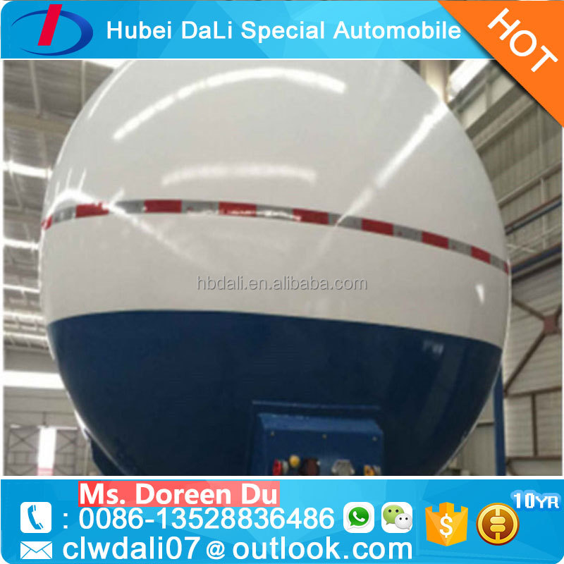 liquefied petroleum gas Tank Semi Trailer for Nigeria market