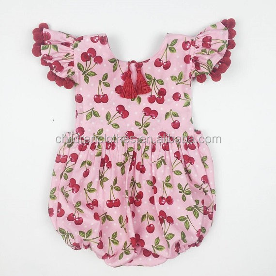 Wholesale Children's Tamil Girl Baby Names Organic Baby Romper With Long Sleeve