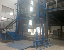 Good quality hydraulic lift chain hoist cargo chain elevator