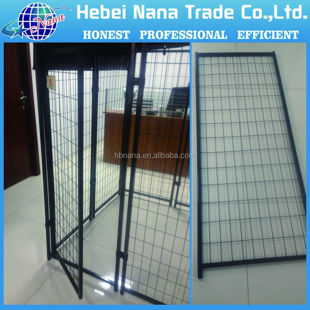 Beautiful and strong dog kennel / large wire mesh dog fence