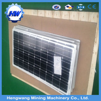 MPPT high efficiency 500w pv solar panel for home use
