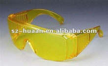 yellow dust proof glasses /safety labor products manufacturer