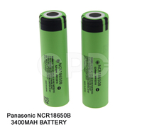 Best quality NCR18650B battery 18650 li ion e cig battery 3400mah 3.7v rechargeable vaping Li-Ion lithium battery