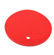 Eco-Friendly Multipurpose Silicone Pot Holder/Jar Opener/Spoon Rest,Heat Resistant Round/Square Insulation Mat Pad
