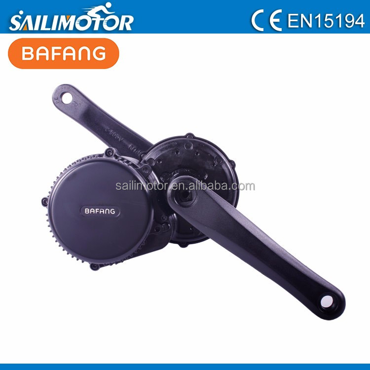 750W BBS02 bafang mid crank electric bike middle motor