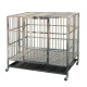 Pet supplies folding assembly strong stainless steel commercial dog cage / kennel