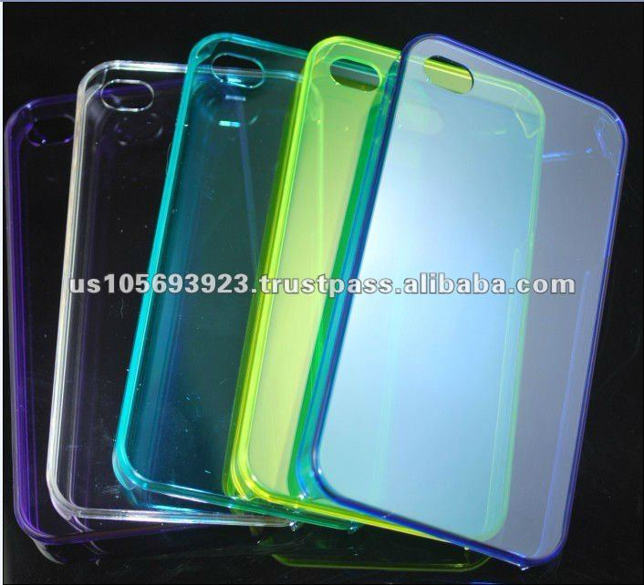 New fashion models Transparent Hard PC case for iphone