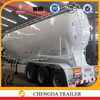 Fire promotion China best 45cbm 3axles bulk cargo tank semi trailer