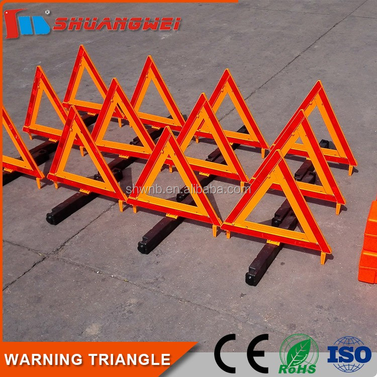 Roadside Emergency Safety Warning Triangle Kit