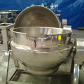 Steam cooking kettle with agitator machine for italy noodles