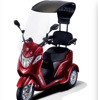 hot sale adult three wheeled electric mobility racing motorcycle