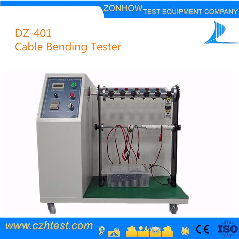 Cable Flex Test Equipment, Wire Bending Fatigue Testing Machine