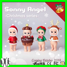Christmas collectable sonny angel action figurines, custom mini sonny action figurines,oem action figurines manufacturer