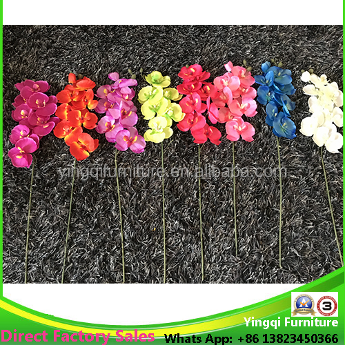 Cheap Silk Orchids for Wedding Table Decoration