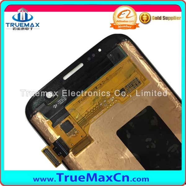 Wholesale Spare Parts Display for Samsung Galaxy S7 Edge LCD Touch Screen Digitizer Assembly