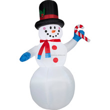 christmas inflatable bumble snowman,giant inflatable snowman,big inflatable snowman for christmas