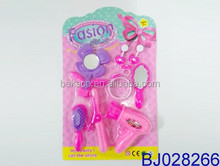 Funny girl Hair Stylist Role Play Set beauty toy for doll