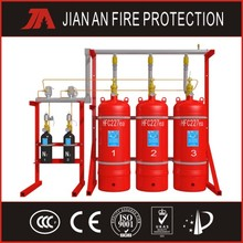 40L pipe network FM200 fire extinguisher(factory)