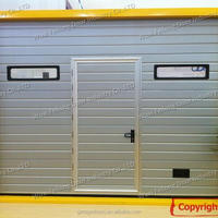 Sectional Industrial Door Overhead High Lifting