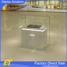 Glass Jewelry Display Cabinet Table and Stand Furniture