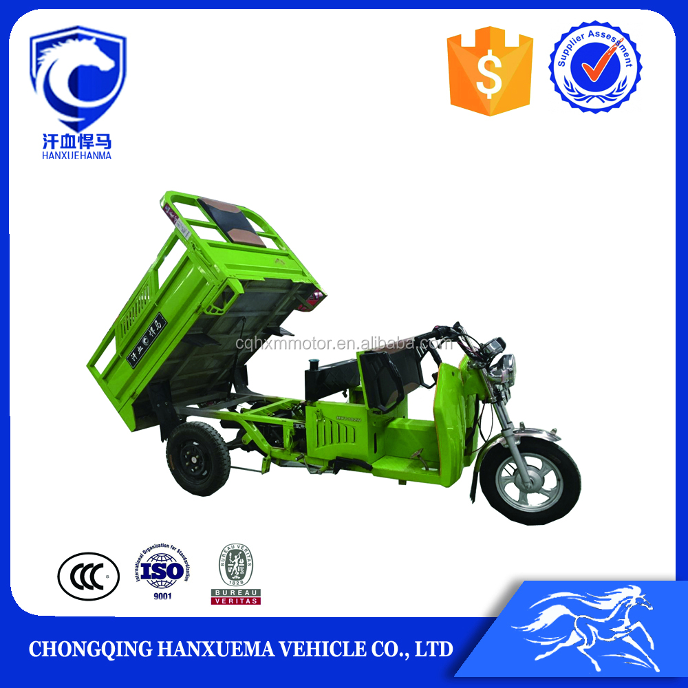 2016 new design 250cc adult tricycle for cargo delivery
